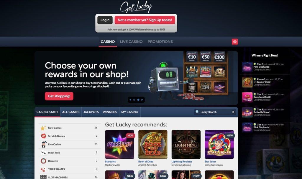 Get Lucky Casino