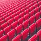 chairs in football stadium